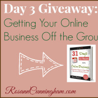 Day 3 Giveaway: Getting Your Online Business Off the Ground
