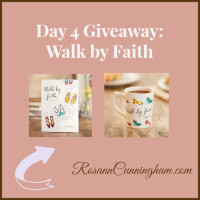 Day 4 Giveaway: Walk by Faith