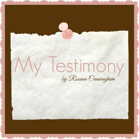 My Testimony Graphic