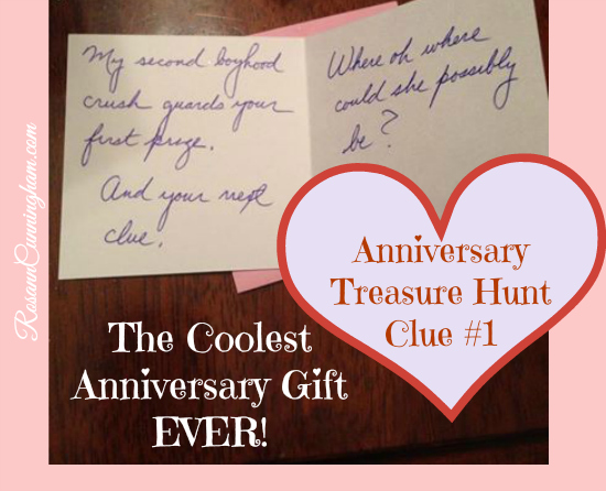 Wedding Gift Ideas Second Time Around : My second boyhood crush guards your first prize, and your next clue ...