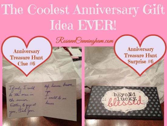 6th Wedding Anniversary Gift Ideas For Husband: The Coolest Anniversary Gift Idea EVER!
