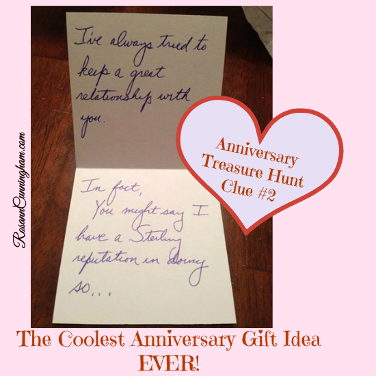 The Coolest Anniversary Gift Idea EVER!