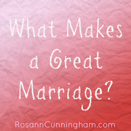 what makes a great marriage essay