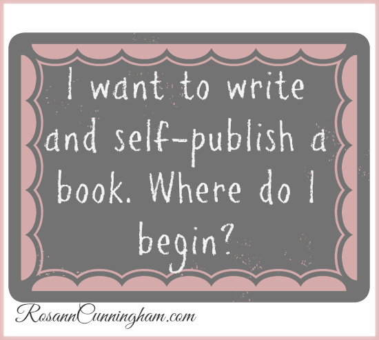 want to write a book