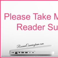 Please Take My 2015 Reader Survey
