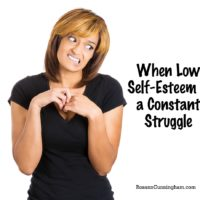 When Low Self-Esteem is a Constant Struggle