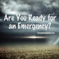 Are You Ready for an Emergency