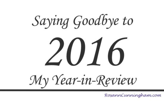 Saying Goodbye to 2016: My Year-in-Review