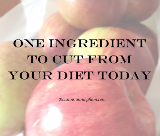 One Ingredient to Cut From Your Diet Today