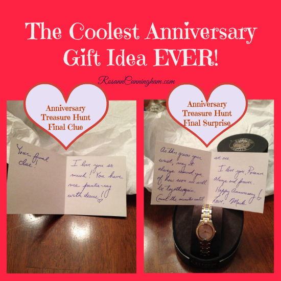The Coolest Anniversary Gift Idea Ever Rosann Cunningham