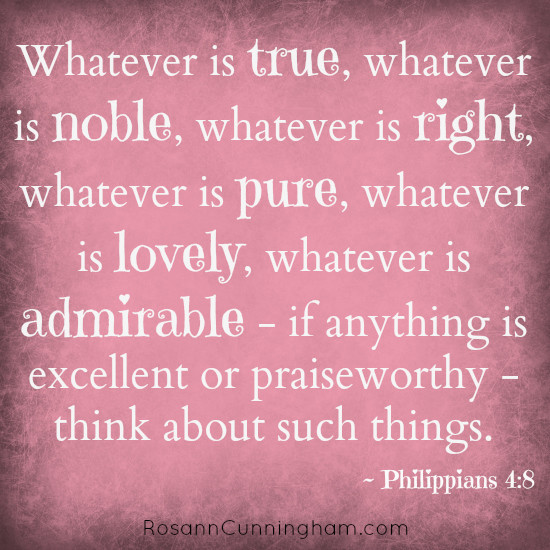 thoughts on how my husband fits the mold of philippians 4 8 rosann