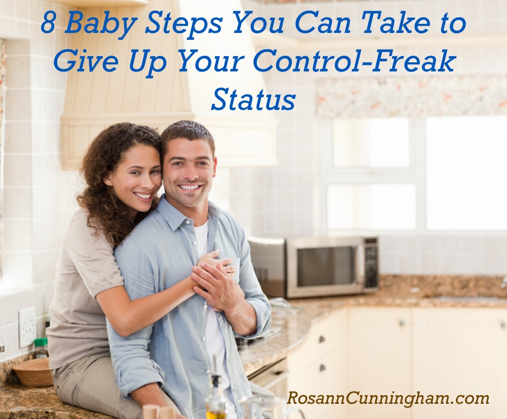 8 Baby Steps You Can Take To Give Up Your Control Freak Status